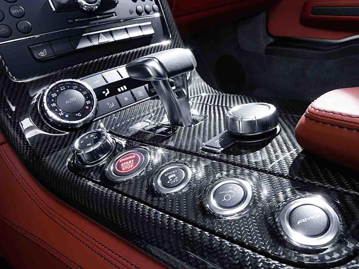 Mercedes SLS AMG-акпп