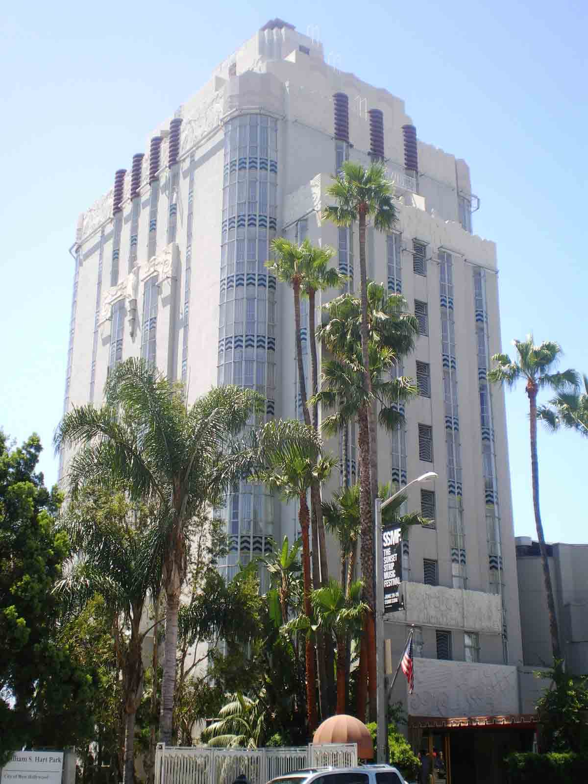 Sunset Tower Hotel Hollywood