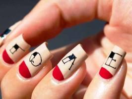 индивидуальное покрытие ногтей