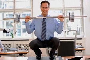 физическими упражнениями будет заниматься мужчина