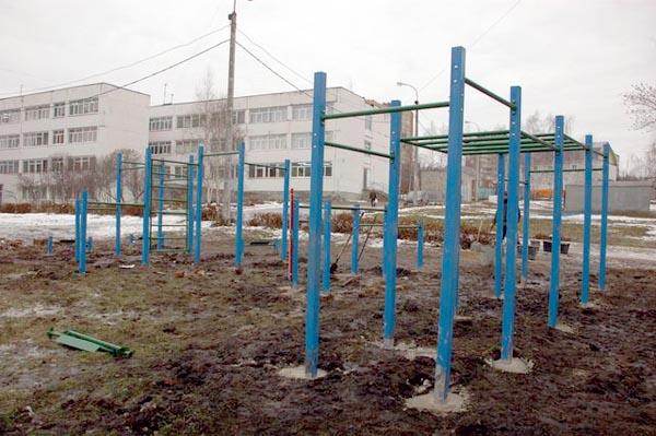 спорт площадка у школы
