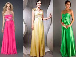 Платье в стиле ампир фото
