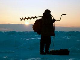 ловля линя зимой